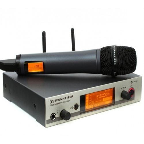 Радиомикрофоны Shure, Sennheiser