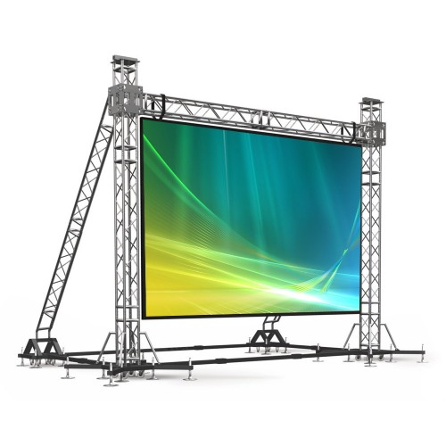 Светодиодный экран 3х4 м, 5 мм pitch, уличный