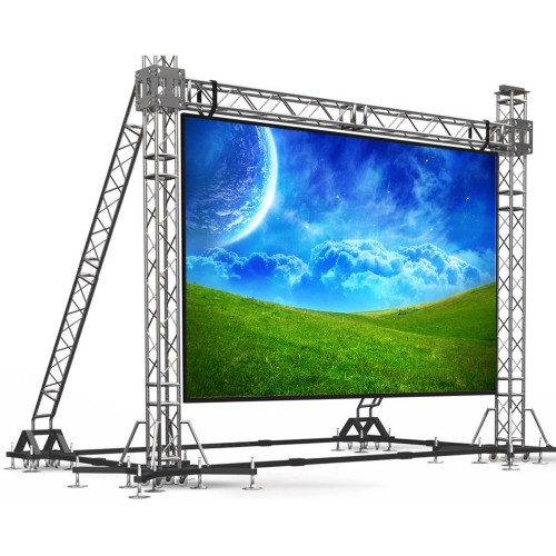 Светодиодный экран 6х4 м, 4 мм pitch, уличный